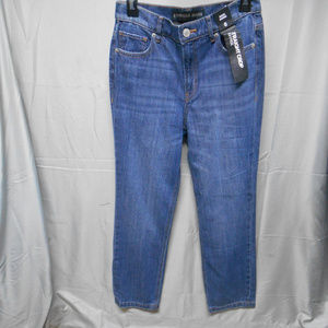 NWT Express straight crop high rise jeans 0